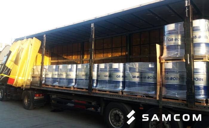 Перевозка масла в бочках из России в Казахстан