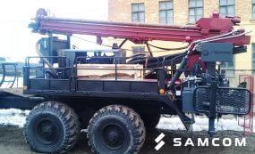 ГК SAMCOM перевезла буровую установку из России в Казахстан