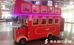 Доставка детского аттракциона «London Bus» в Алматы
