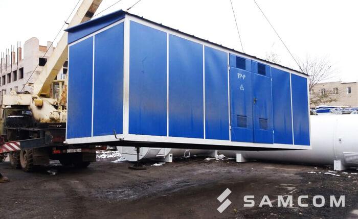 Перевозка трансформаторной подстанции в Казахстане
