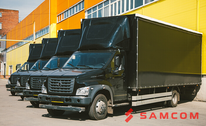 Приём грузовых фургонов «ГАЗон NEXT»