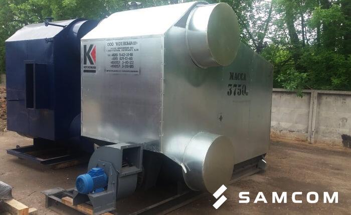 ГК SAMCOM доставила паровой котёл в Казахстан