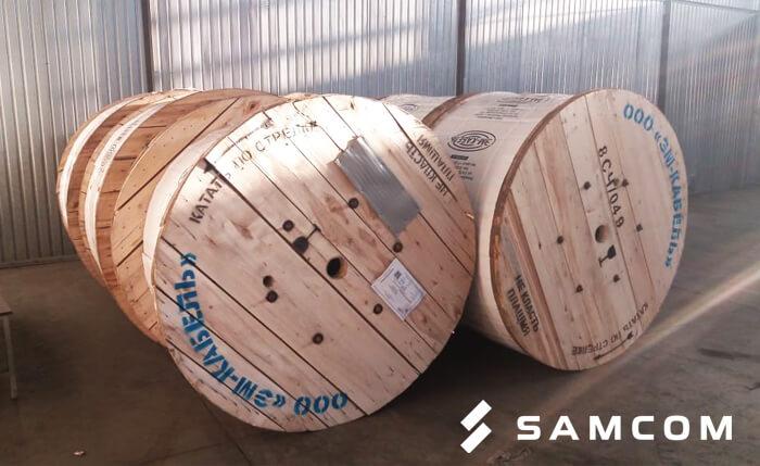 Перевозка кабеля на барабанах из Саранска в Актобе