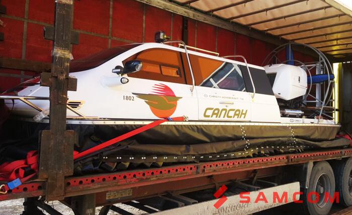 Доставка катера автотранспортом – быстро, выгодно, безопасно