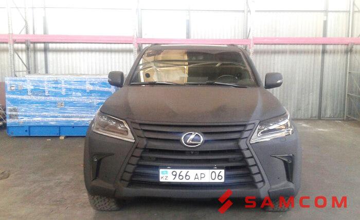 Перевозка LEXUS LX 570 из Красноярска в Атырау