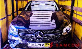 Перевозка Mercedes-Amg Glc 43 4matic Coupe из Москвы в Актау