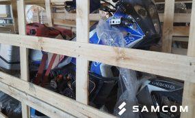 Москва – Алматы: доставка 6 мотоциклов