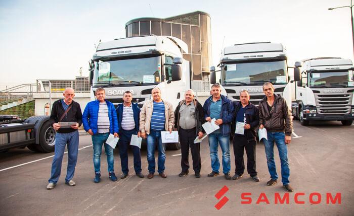 Очередное пополнения автопарка ГК SAMCOM
