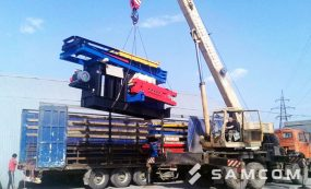 Транспортировка нефтяной установки в Казахстан