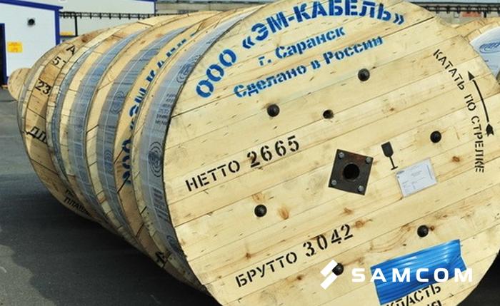 Поставка кабеля — перевозка из Саранска в Нур-Султан