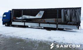 Перевозка самолета из Санкт-Петербурга в Актау