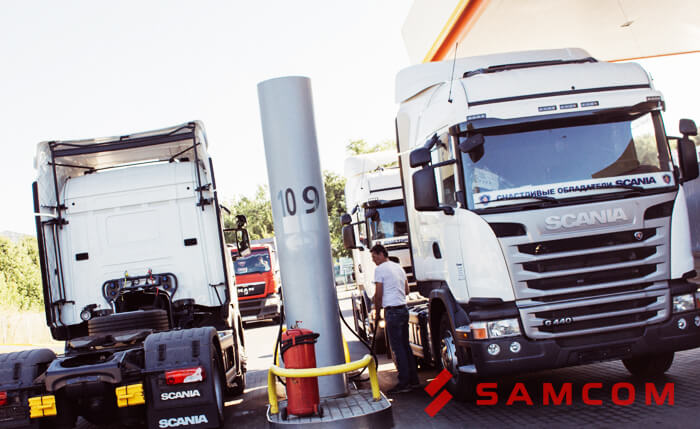 ГК SAMCOM расширяет автопарк машин