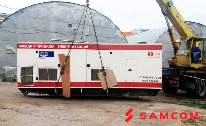 Международная перевозка трансформаторов из Москвы в Атырау