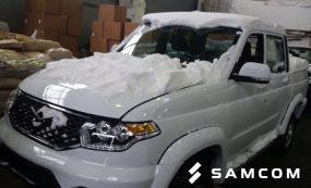 Перевозка автомобилей УАЗ по направлению Россия – Казахстан