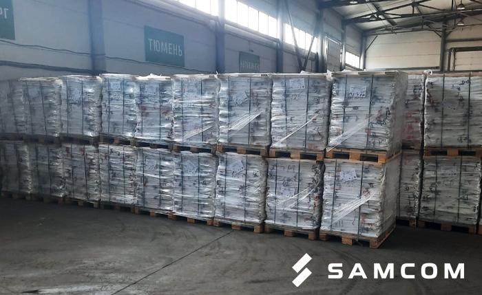 Перевозка мягких контейнеров между сёлами России и Казахстана
