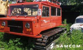 Транспортировка гусеничного вездехода в Алтай