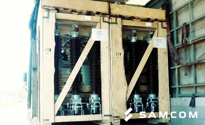 Две фуры с электротехническим оборудованием в Караганду