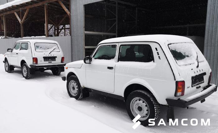 Два автомобиля LADA 4*4 перевезены в Казахстан