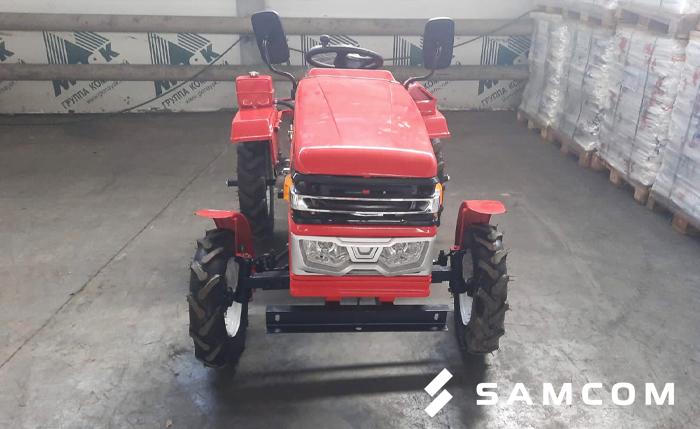 Трактор в фуре — доставка из Уфы в Алматы