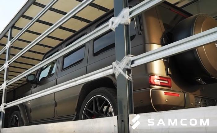 Автомобиль за 18,5 миллионов рублей из России в Нур-Султан