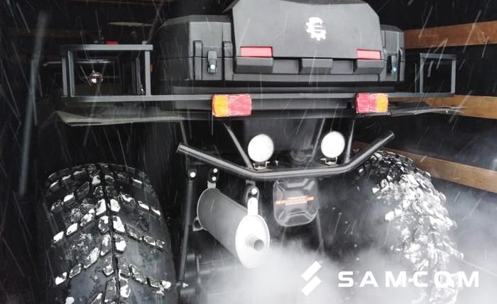 Снегоболотоход «Сокол 1.5» доставлен в Нур-Султан из Новосибирска