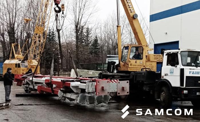 Как мы перевозили радиолокатор на 4-х фурах в Алматы