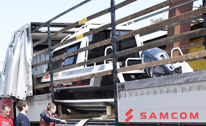 Перевозка лодок и катеров