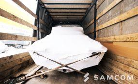 Доставка катера автотранспортом — выгодно, надежно, быстро