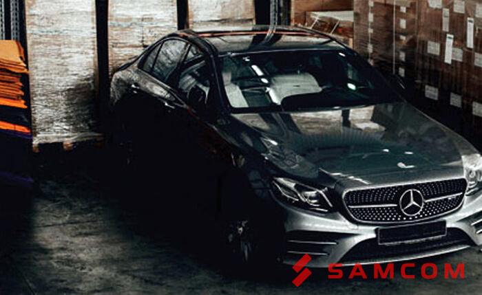 Перевозка Mercedes-Benz E-43 AMG в Казахстан