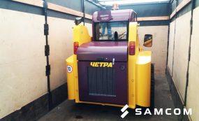 ГК SAMCOM доставила мини-погрузчик из Саранска в Аксу