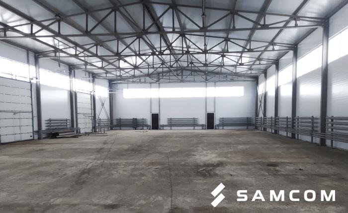 Склад ГК SAMCOM в Нур-Султане переехал