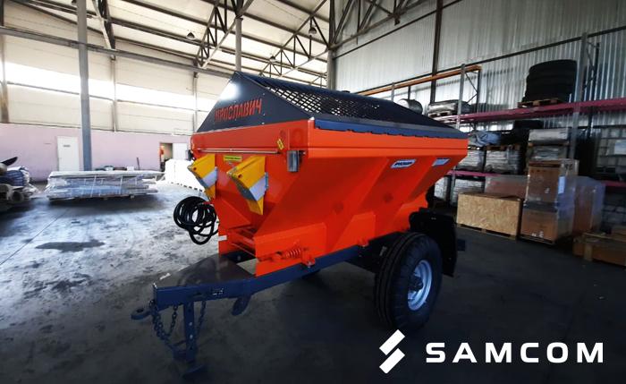 Перевозка пескоразбрасывателя в Казахстан