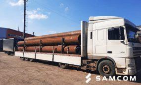 Транспортировка труб из России в Казахстан