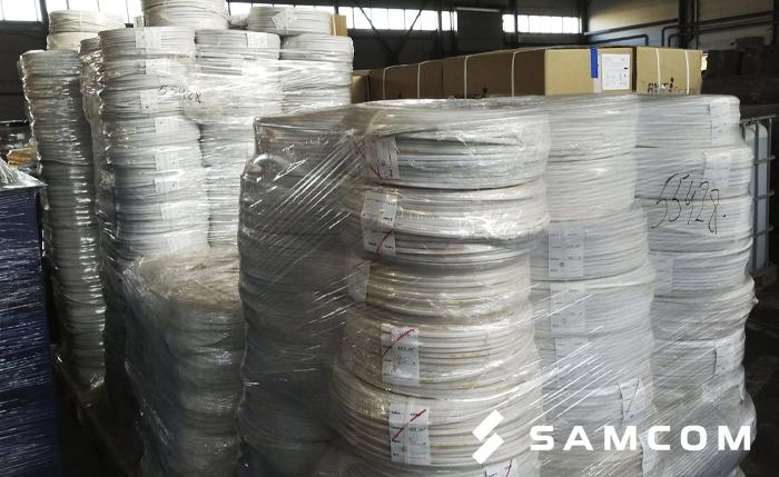 ГК SAMCOM перевезла 5,5 тонн проводов по России