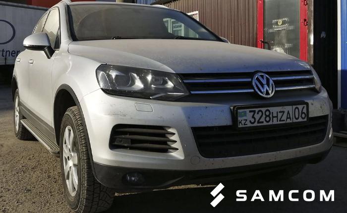 Volkswagen Touareg из Самары в Атырау