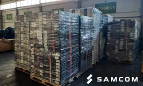 Перевозка отопительных батарей из России в Казахстан