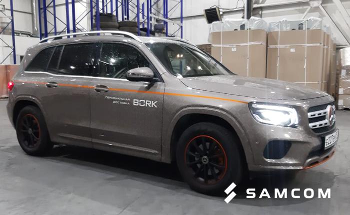 Mercedes из Москвы в Алматы — успешная перевозка