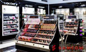 Доставка косметики и парфюмерии в супермаркеты «Золотое Яблоко»