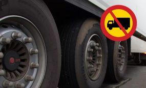 В Казахстане введены ограничения на движения большегрузов