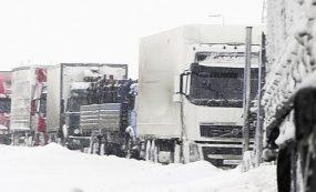 Закрыто движение на 47 участках казахстанских дорог