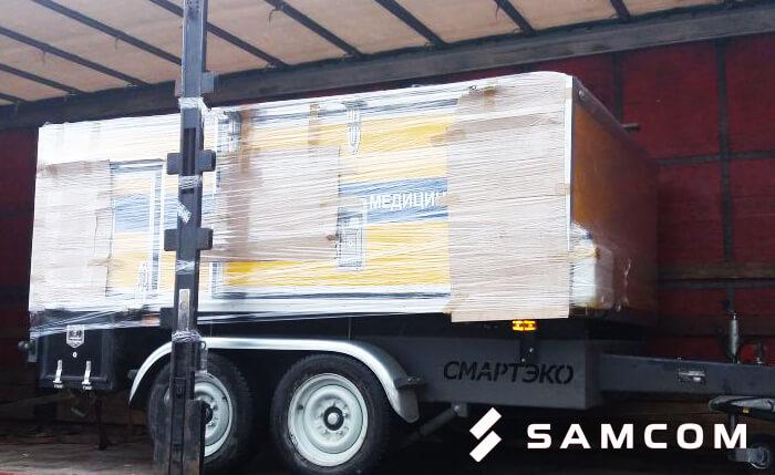 Перевозка аэродромного заправщика из Самары в Алматы