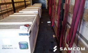 Перевозка сегментов подпятника для Шульбинской ГЭС