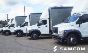 ГК SAMCOM закупила новый транспорт для автопарка