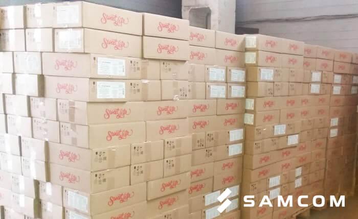 Перевозка кондитерских изделий из России в Казахстан