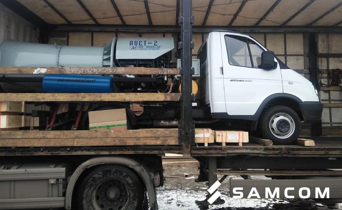 Доставка дезинфекционной установки из Софрино в Макинск