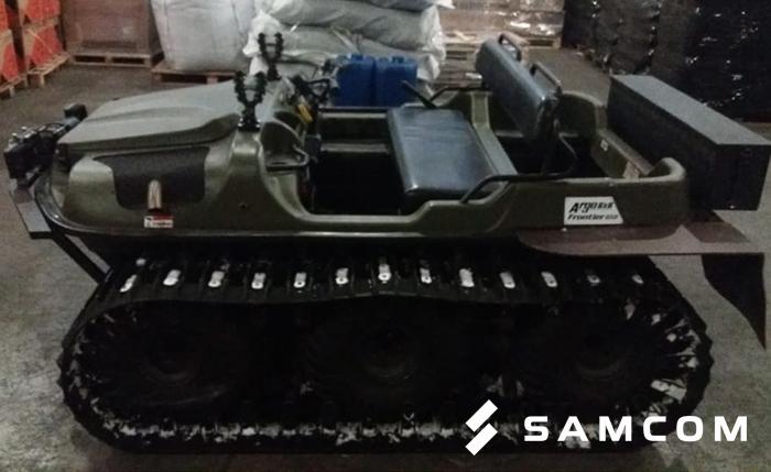 Перевозка вездехода амфибии из Белого Яра в Шымкент