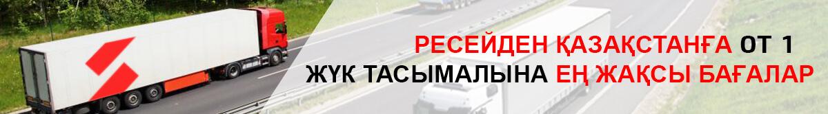 Лучшие цены на грузоперевозки от 200 кг из России в Казахстан